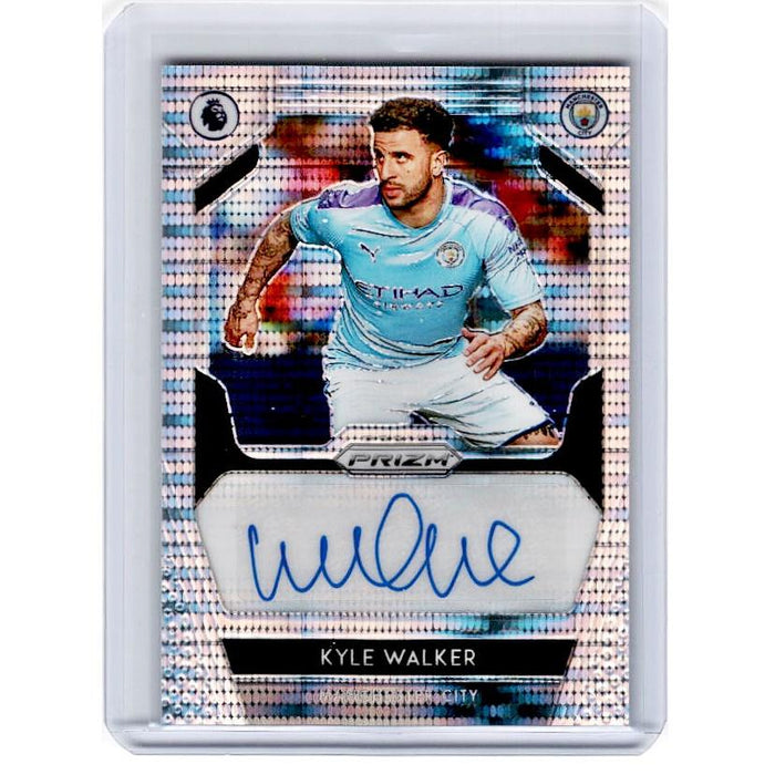 2019-20 Prizm EPL Breakaway Soccer KYLE WALKER Auto 11/50-Cherry Collectables