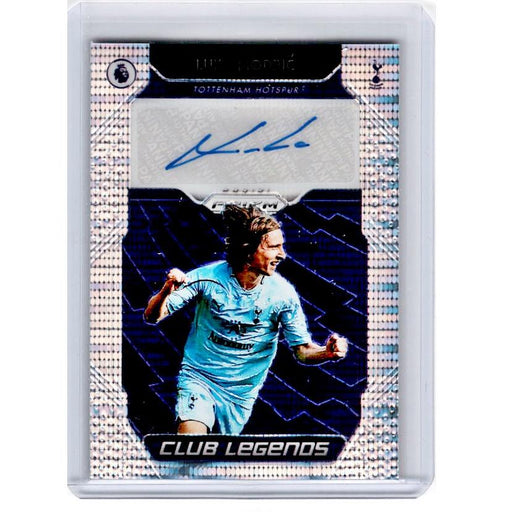2019-20 Prizm EPL Breakaway Soccer LUKA MODRIC Club Legends Auto 9/15-Cherry Collectables