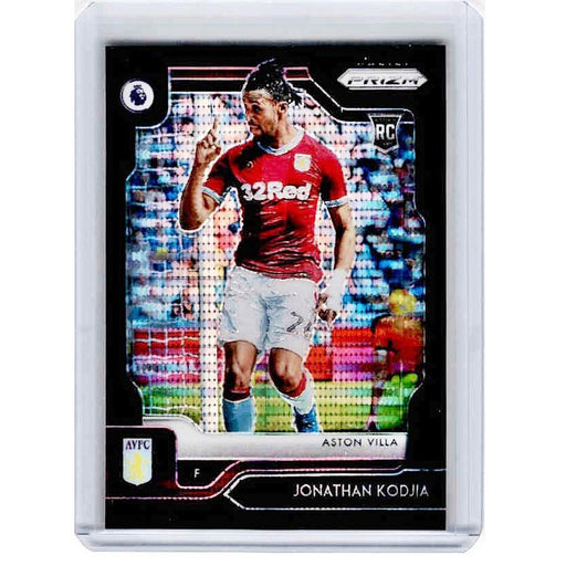 2019-20 Prizm EPL Breakaway Soccer JONATHAN KODJIA Rookie Black Prizm 1/1-Cherry Collectables