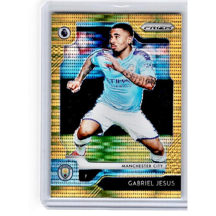 2019-20 Prizm EPL Breakaway Soccer GABRIEL JESUS Gold Prizm 1/10-Cherry Collectables