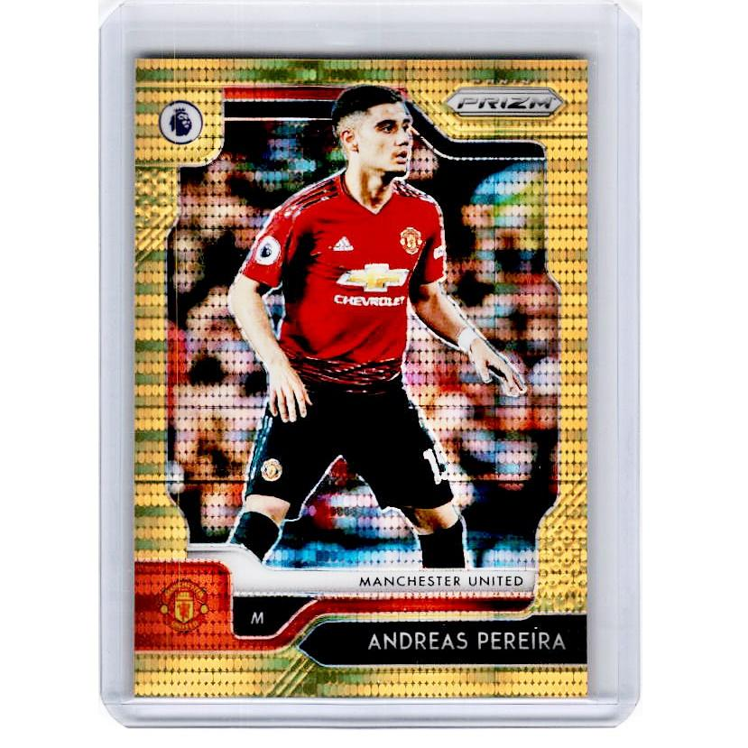 2019-20 Prizm EPL Breakaway Soccer ANDREAS PEREIRA Gold Prizm 2/10-Cherry Collectables