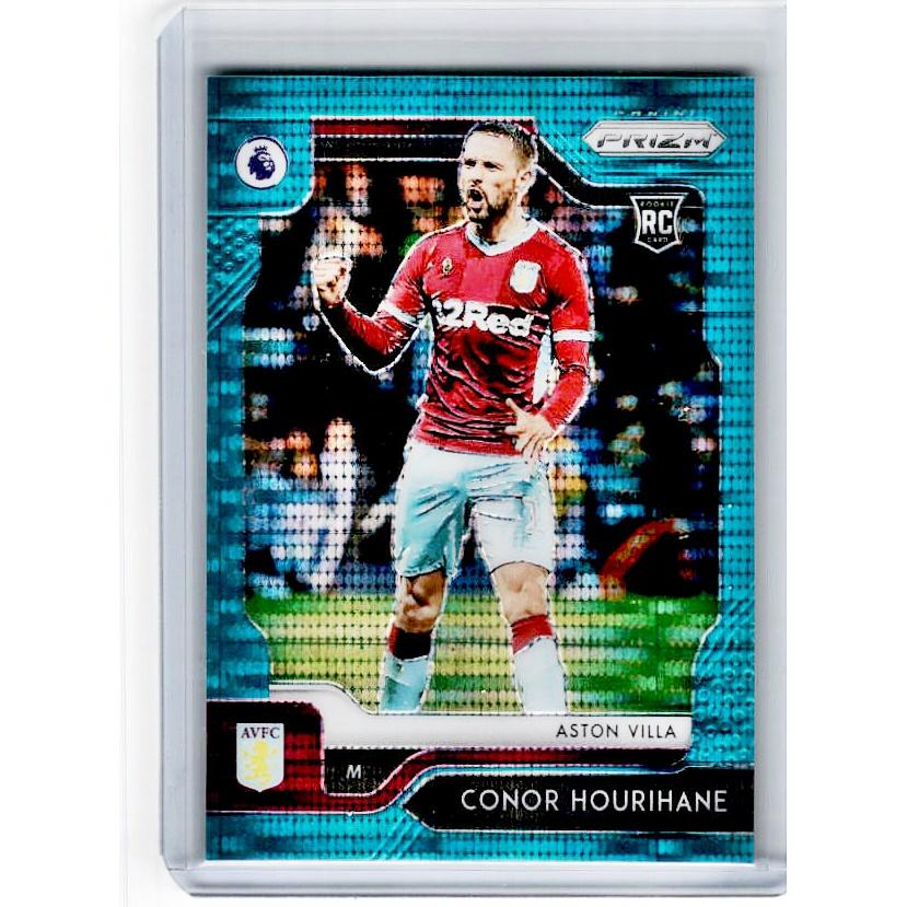 2019-20 Prizm EPL Breakaway Soccer CONOR HOURIHANE Rookie Teal Prizm 1/35-Cherry Collectables