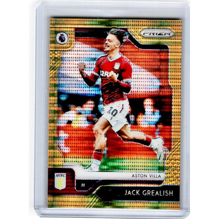 2019-20 Prizm EPL Breakaway Soccer JACK GREALISH Gold Prizm 3/10-Cherry Collectables