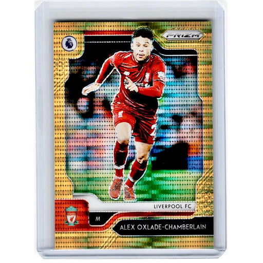 2019-20 Prizm EPL Breakaway Soccer ALEX OXLADE-CHAMBERLAIN Gold Prizm 6/10-Cherry Collectables