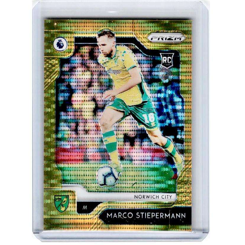 2019-20 Prizm EPL Breakaway Soccer MARCO STIEPERMANN Rookie Gold Prizm 9/10-Cherry Collectables