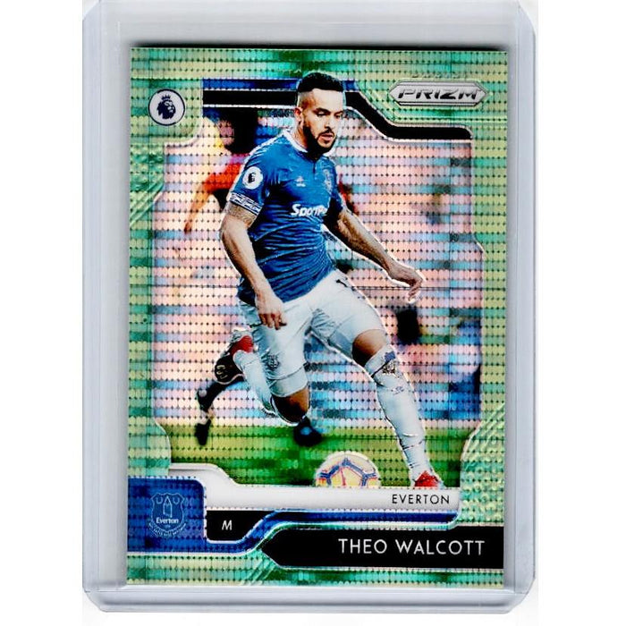 2019-20 Prizm EPL Breakaway Soccer THEO WALCOTT Green Prizm 4/5-Cherry Collectables
