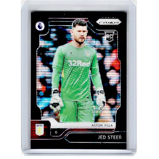 2019-20 Prizm EPL Breakaway Soccer JED STEER Rookie Black Prizm 1/1-Cherry Collectables