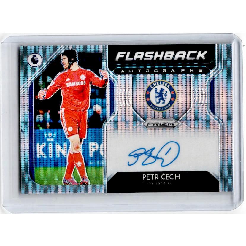 2019-20 Prizm EPL Breakaway Soccer PETR CECH Flashback Auto 3/100-Cherry Collectables