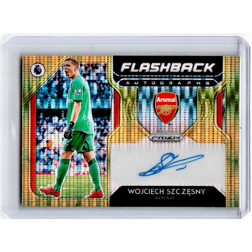 2019-20 Prizm EPL Breakaway Soccer WOJCIECH SZCZESNY Flashback Auto Gold 5/10-Cherry Collectables