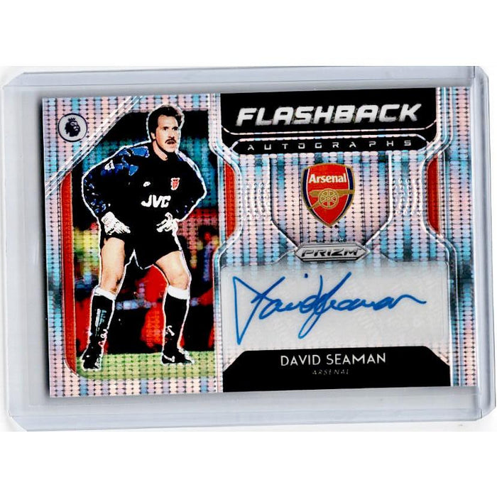 2019-20 Prizm EPL Breakaway Soccer DAVID SEAMAN Flashback Auto 82/100-Cherry Collectables
