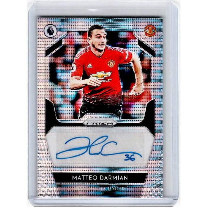 2019-20 Prizm EPL Breakaway Soccer MATTEO DARMIAN Auto 8/75-Cherry Collectables