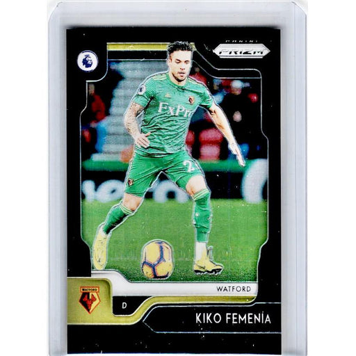2019-20 Prizm EPL Soccer KIKO FEMENIA Black Prizm 1/1-Cherry Collectables