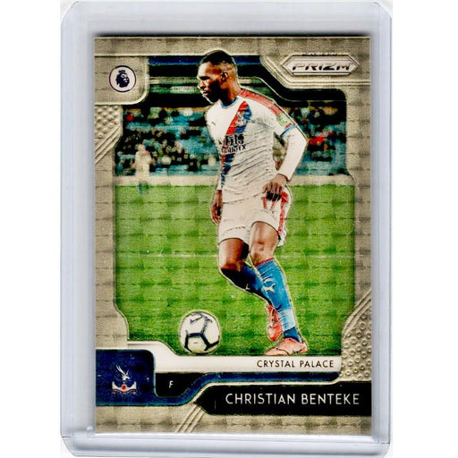 2019-20 Prizm EPL Soccer CHRISTIAN BENTEKE Gold Vinyl Prizm 5/5-Cherry Collectables