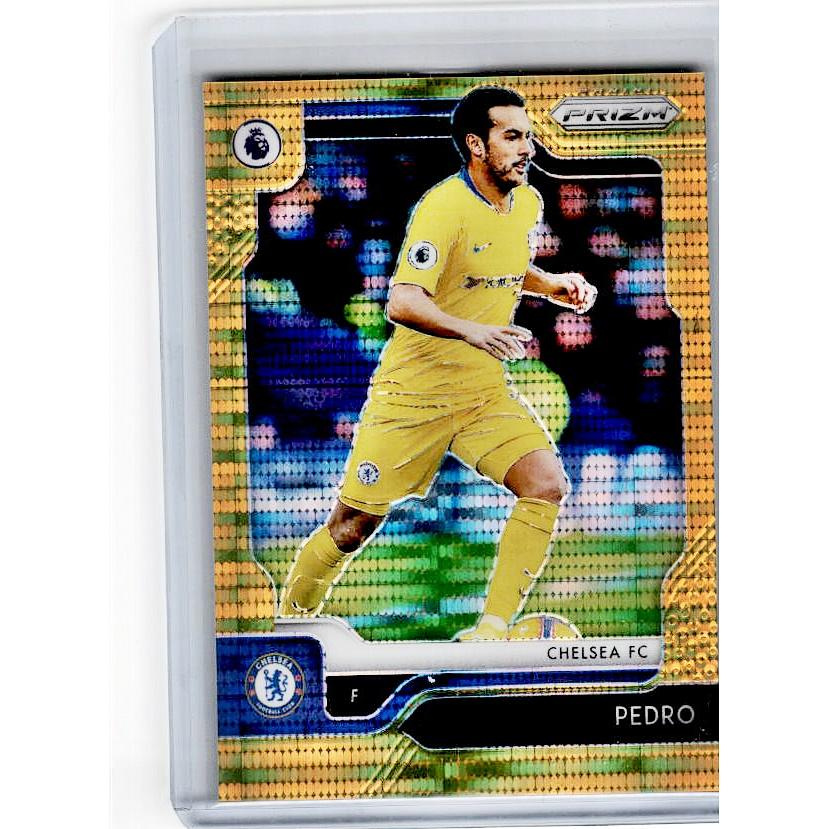 2019-20 Prizm EPL Breakaway Soccer PEDRO Gold Prizm 5/10-Cherry Collectables