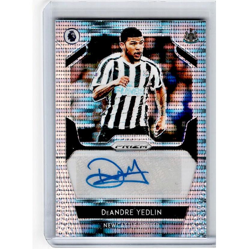 2019-20 Prizm EPL Breakaway Soccer DEANDRE YEDLIN Auto 49/50-Cherry Collectables