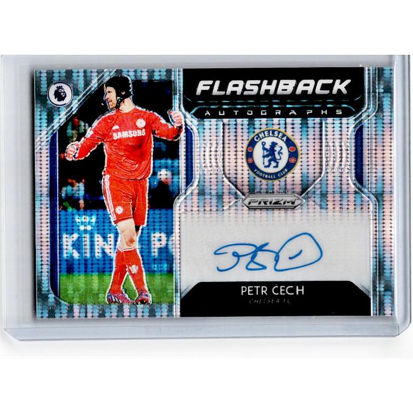 2019-20 Prizm EPL Breakaway Soccer PETR CECH Flashback Auto 22/100-Cherry Collectables