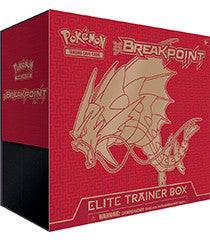 POKEMON XY BREAKPoint Elite Trainer Box-Cherry Collectables