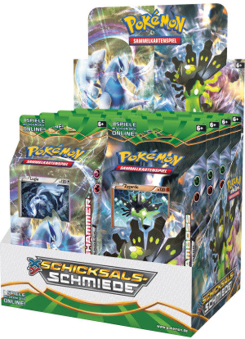 POKEMON TCG XY Fates Collide Theme Deck - Zygarde-Cherry Collectables