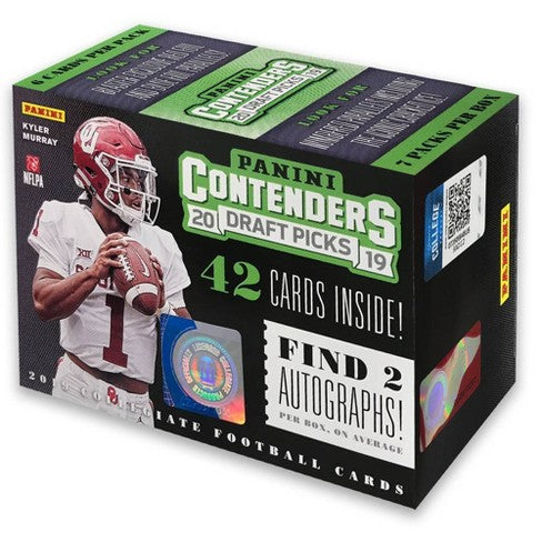 2019 Panini Contenders Draft Picks Basketball 7-Pack Box-Cherry Collectables