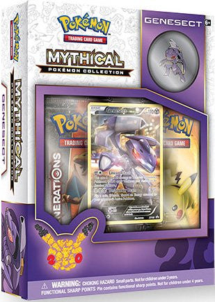 Mythical Pokemon Collection - Genesect Pin Box-Cherry Collectables
