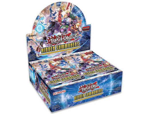 Yu-Gi-Oh! TCG Hidden Summoners Booster Box-Cherry Collectables