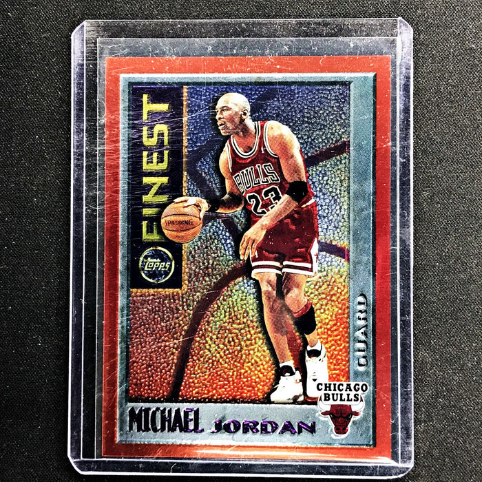 1995-96 Topps Finest MICHAEL JORDAN Orange #M1 - A-Cherry Collectables