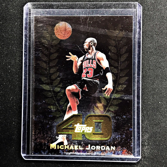 1997-98 Topps MICHAEL JORDAN 40 #T40-5 - A-Cherry Collectables