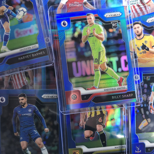 2019-20 Prizm EPL Soccer BILLY SHARP Blue Rookie Prizm 72/199-Cherry Collectables