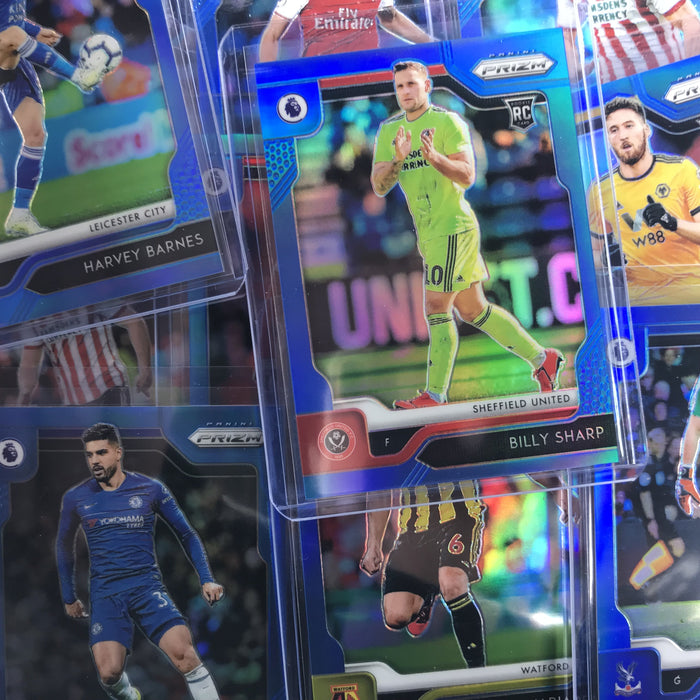 2019-20 Prizm EPL Soccer EMERSON PALMIERI Blue Rookie Prizm 11/199-Cherry Collectables