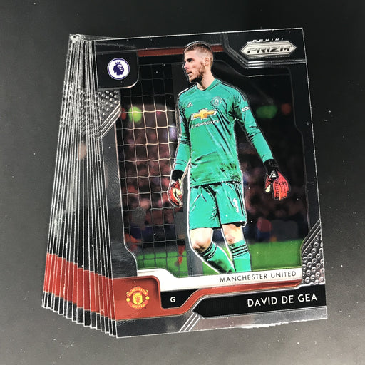 2019-20 Prizm EPL Soccer MANCHESTER UNITED Team Set - All Base Cards #50-67-Cherry Collectables