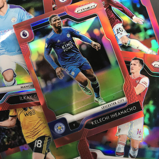 2019-20 Prizm EPL Soccer YAN VALERY Rookie Red Prizm 22/149-Cherry Collectables