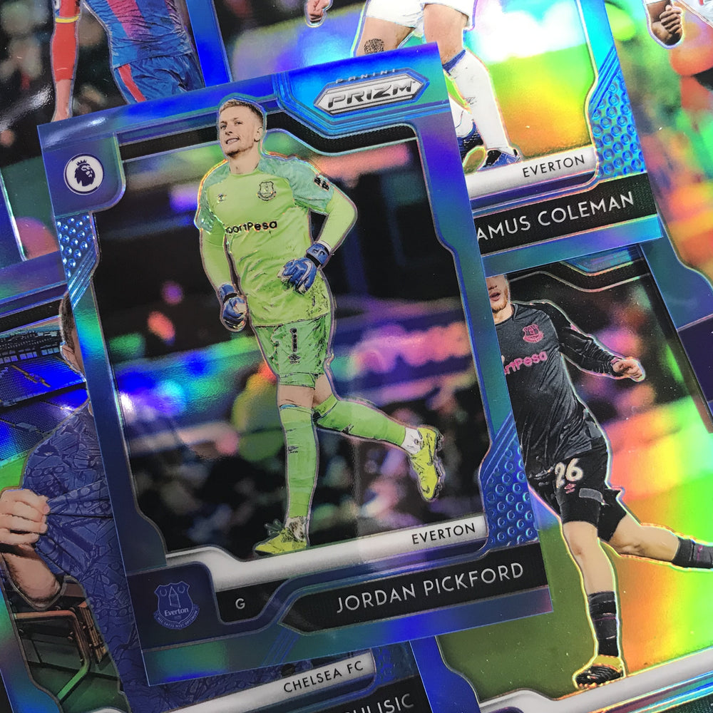 2019-20 Prizm EPL Soccer HAMZA CHOUDHURY Rookie Blue Prizm 23/199-Cherry Collectables