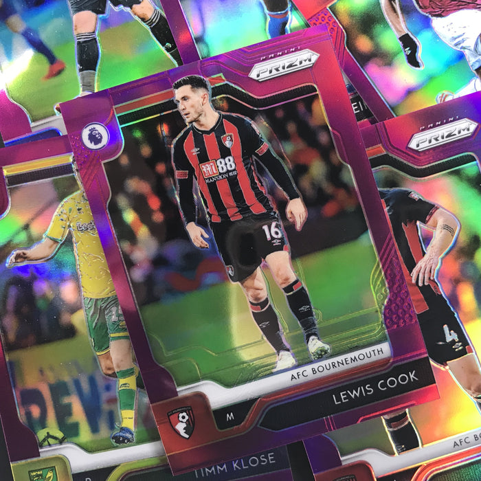 2019-20 Prizm EPL Soccer MASON HOLGATE Rookie Purple Prizm 95/99-Cherry Collectables