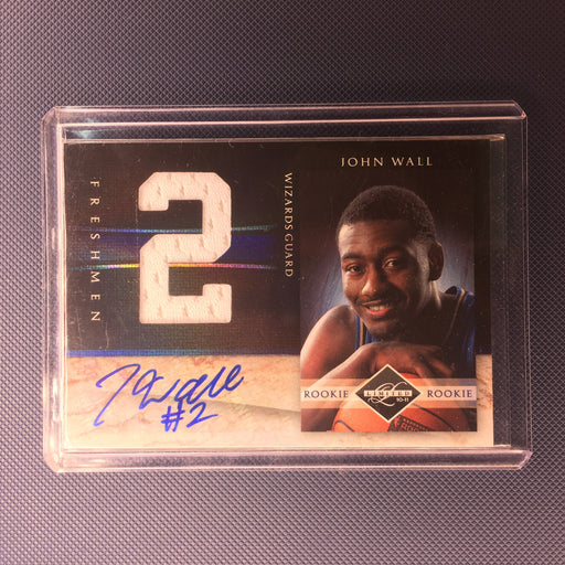10-11 Limited JOHN WALL RC Rookie Freshmen Auto Jsy /99-Cherry Collectables