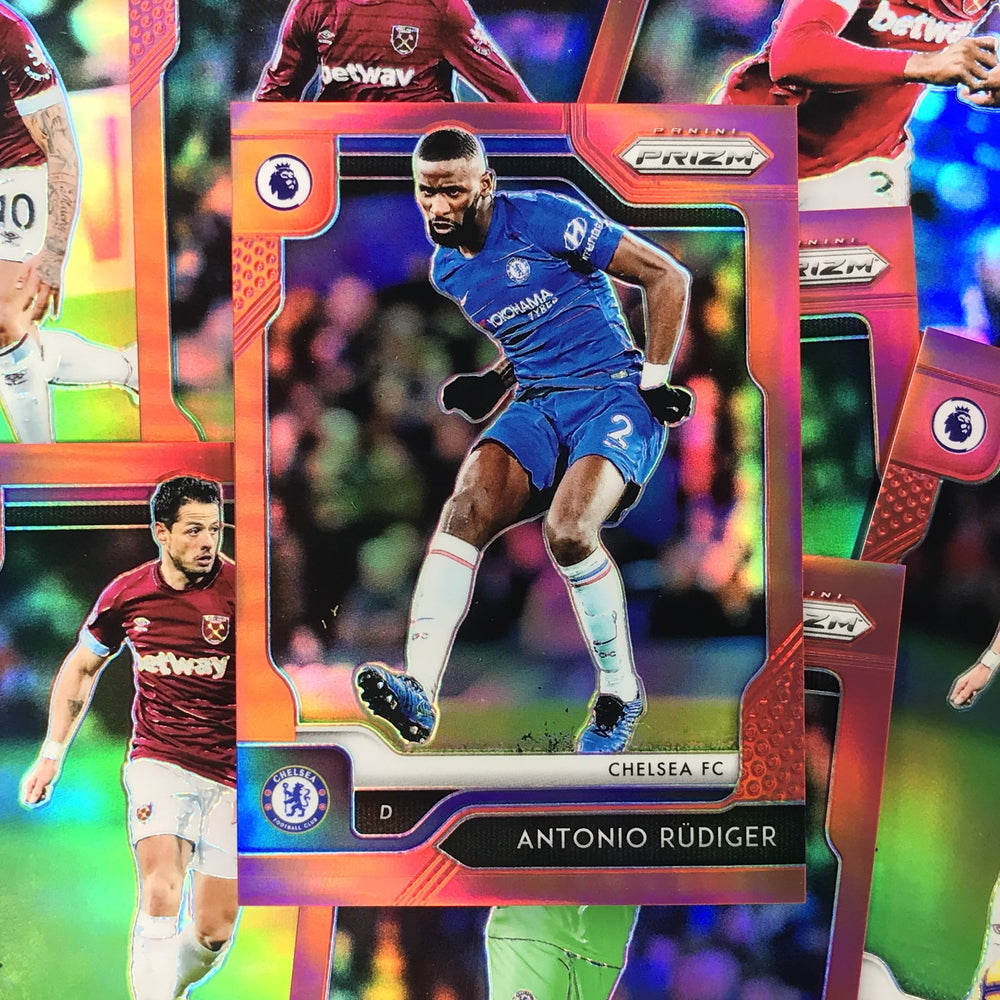 2019-20 Prizm EPL Soccer RED Prizm /149 - Choose Your Player 1-Cherry Collectables