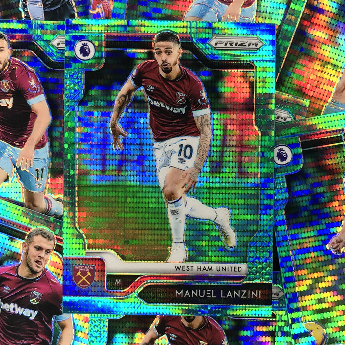 2019-20 Prizm EPL Breakaway Soccer TEAL Prizm /35 - Choose Your Player 1-Cherry Collectables