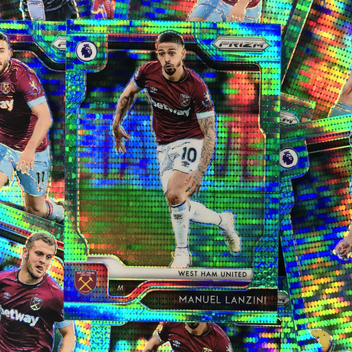 2019-20 Prizm EPL Breakaway Soccer TEAL Prizm /35 - Choose Your Player 2-Cherry Collectables