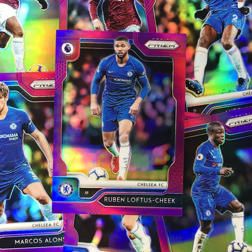 2019-20 Prizm EPL Soccer PURPLE Prizm /99 - Choose Your Player 1-Cherry Collectables