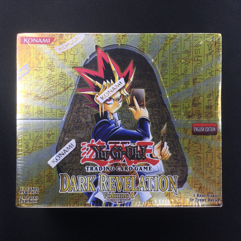 2005 Yu-Gi-Oh! Dark Revelation Volume 1 Booster Box US PRINT-Cherry Collectables
