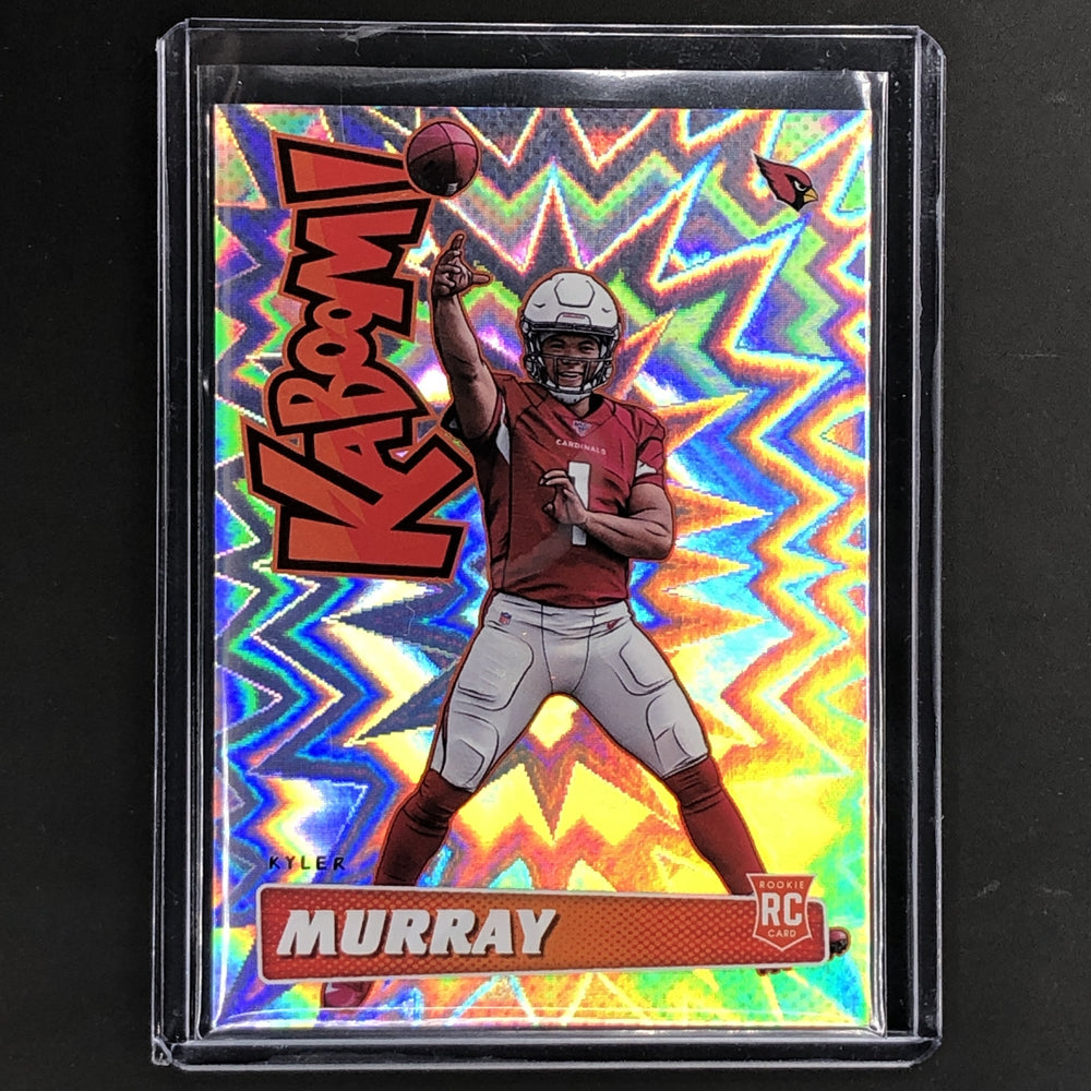 2019 Absolute KYLER MURRAY Rookie Kaboom Case Hit SSP #K-KM-Cherry Collectables