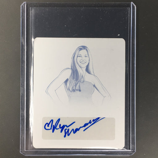 2018 Leaf Legends Of Wrestling RYAN SHAMROCK Auto Cyan Printing Plate 1/1-Cherry Collectables