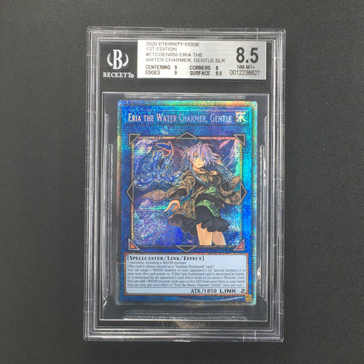 BGS 8.5 NM-MINT+ Starlight / Prismatic Eria the Water Charmer, Gentle - ETCO-EN055-Cherry Collectables