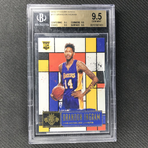 2016-17 Court Kings BRANDON INGRAM Rookie IV BGS 9.5-Cherry Collectables