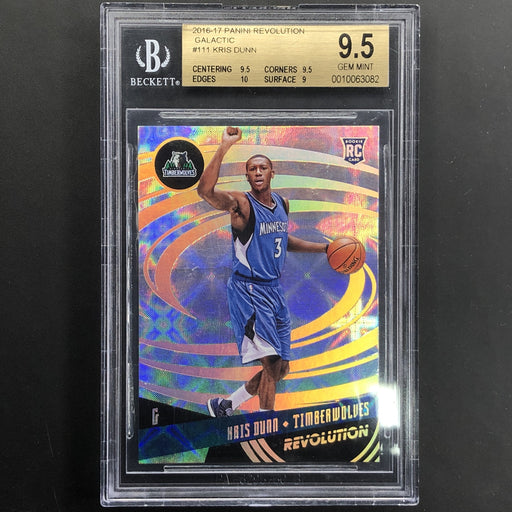 2016-17 Revolution KRIS DUNN Rookie Galactic BGS 9.5-Cherry Collectables