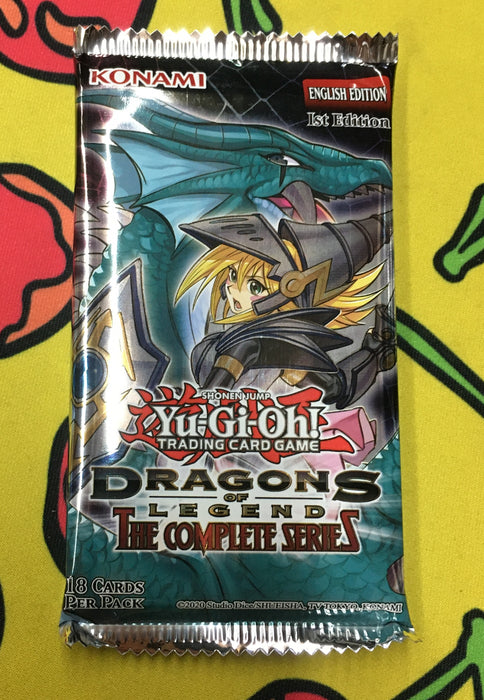 YU-GI-OH! TCG Dragons of Legend Complete Series Booster Pack-Cherry Collectables
