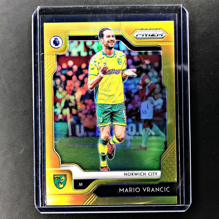 2019-20 Prizm EPL Soccer MARIO VRANCIC Gold Prizm 6/10-Cherry Collectables