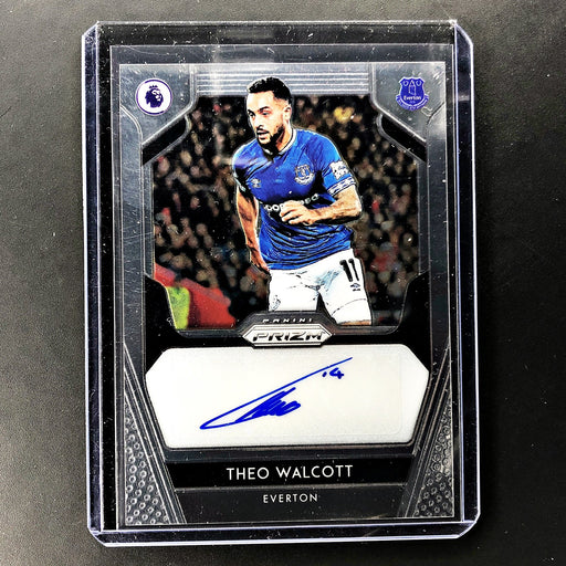 2019-20 Prizm EPL Soccer THEO WALCOTT Auto - D-Cherry Collectables