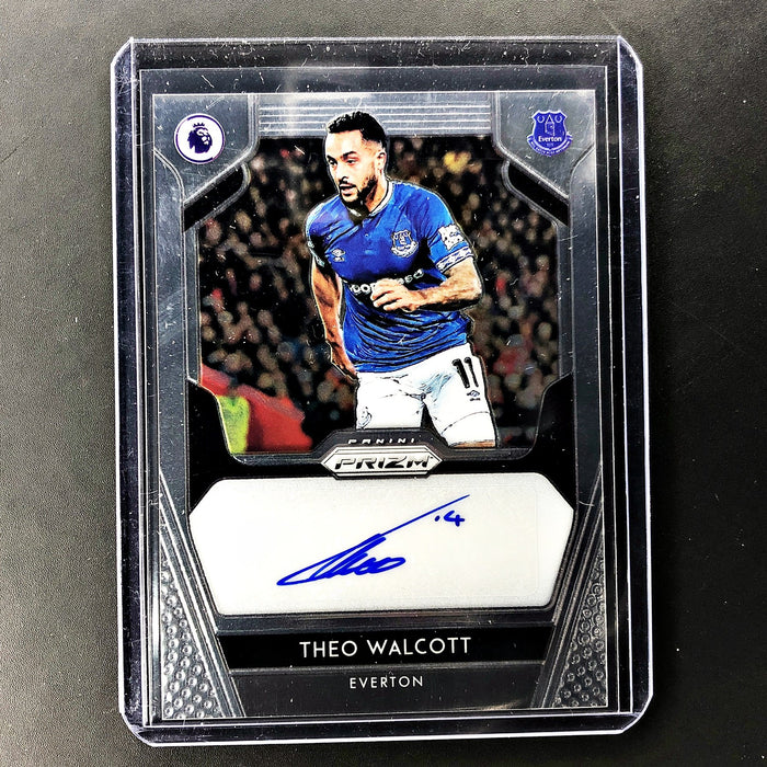 2019-20 Prizm EPL Soccer THEO WALCOTT Auto - A-Cherry Collectables