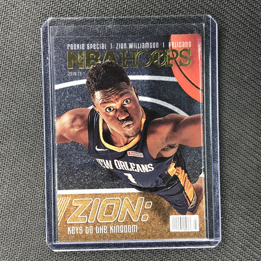 2019-20 Hoops ZION WILLIAMSON Rookie Special #1-Cherry Collectables