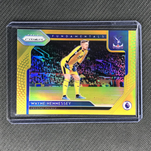 2019-20 Prizm EPL WAYNE HENNESSEY Fundamentals Gold Prizm 10/10-Cherry Collectables